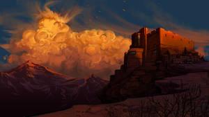 Mountain Keep by EranFowler