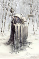 Witch of the White Wood by EranFowler