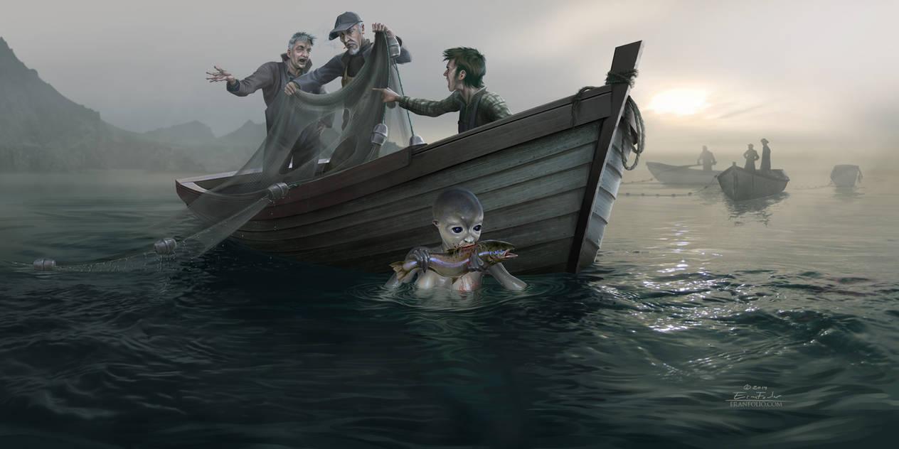 Catch of the Day by EranFowler