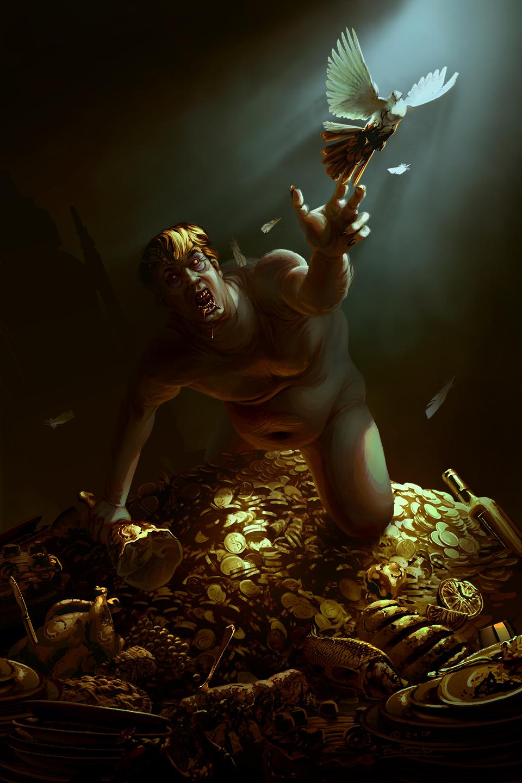 The Hunger of King Midas by EranFolio