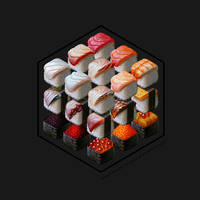 Sushi Cubed by EranFowler