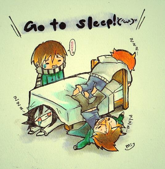 Restless Sleeper by Mitsuki-Chizu