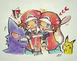 ??? used Nuzzle! by Mitsuki-Chizu