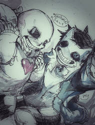 Sans and Zacharie