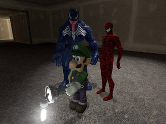 Luigi Mansion 4: The Symbiote wars by cooldudej