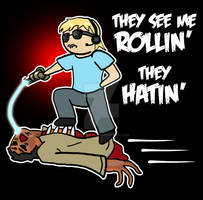 TRY TO CATCH ME RIDIN' ZOMBIES