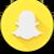 Snapchat icon by MythicalPrancer
