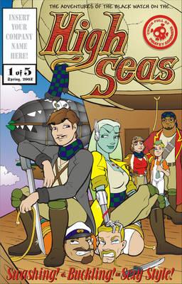 High Seas Issue 1 Cover