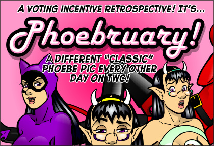 Phoebruary! Feb 2016 Puck Voting Incentive by ElectricGecko