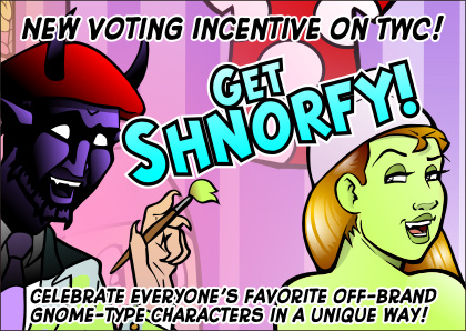 New Puck Voting Incentive! Get SHNORFY! by ElectricGecko
