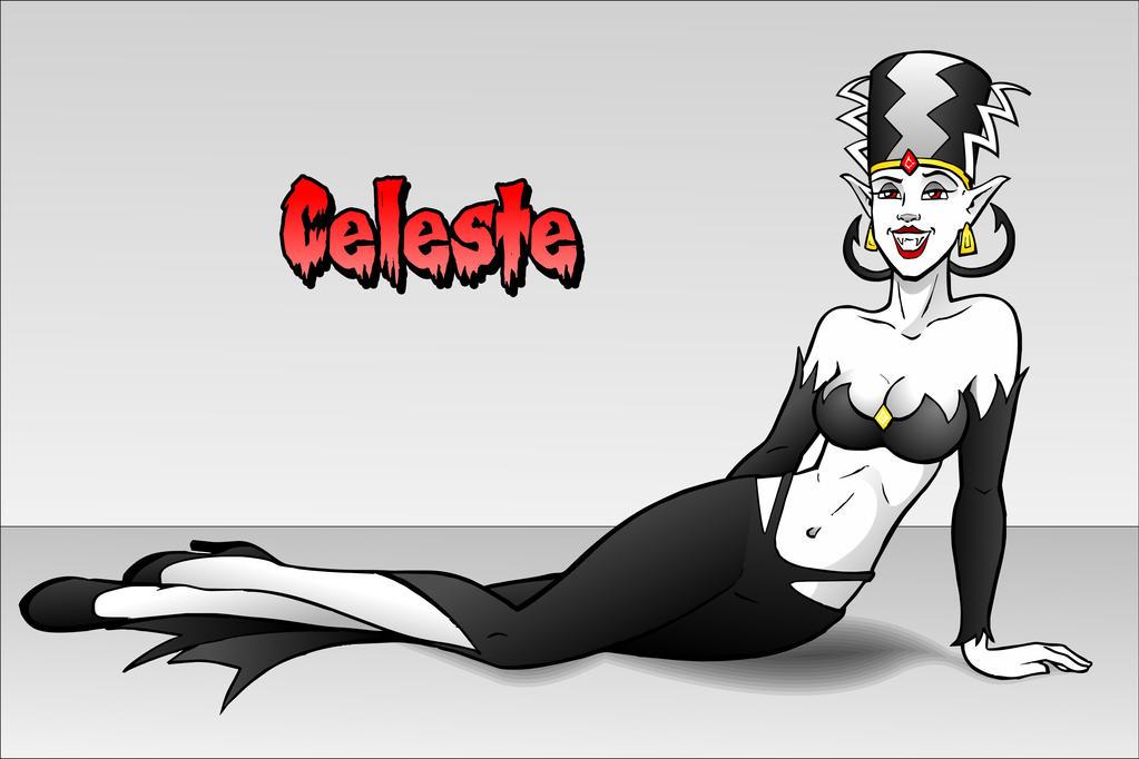 Celeste - fan art by ElectricGecko