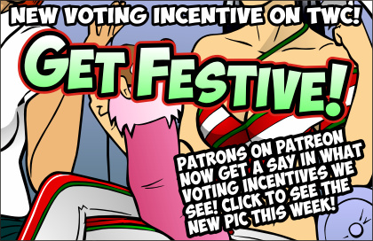 New Puck Christmas Voting Incentive! by ElectricGecko