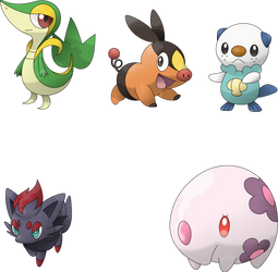Pic #051 - Pokemon BW vectorizations