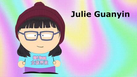OC Profile - Julie Guanyin by LittleDeez-SP