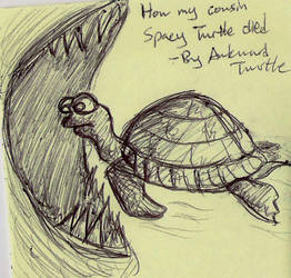 Spacy Turtle by Kaelia