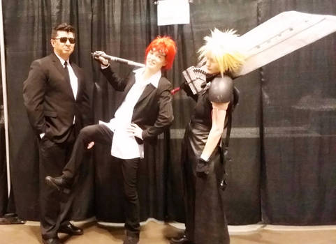 MegaCon Fan Days: ShinRa + Cloud
