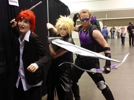 MegaCon Fan Days: FFVII + Clint