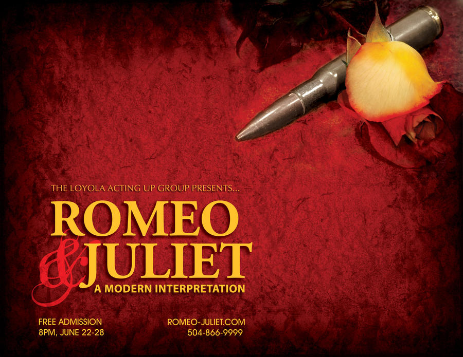 Romeo and Juliet, Poster by jennagemini on DeviantArt