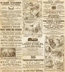Vintage Scottish Ads by auRoraBor