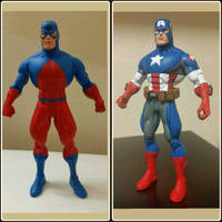 Captain America from a DC Atom