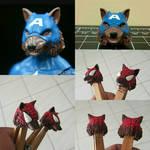 Spidey wolf heads