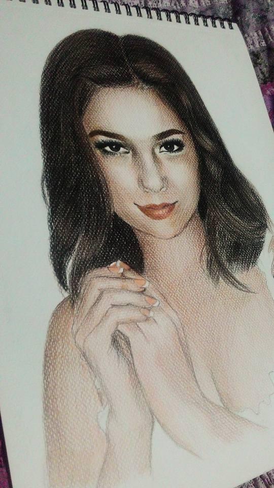 andi eigenmann colored portrait by rachdeart