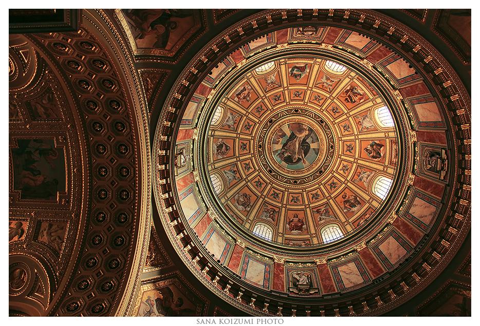 Dome - St. Stephen's Basilica. by SanaKoizumi