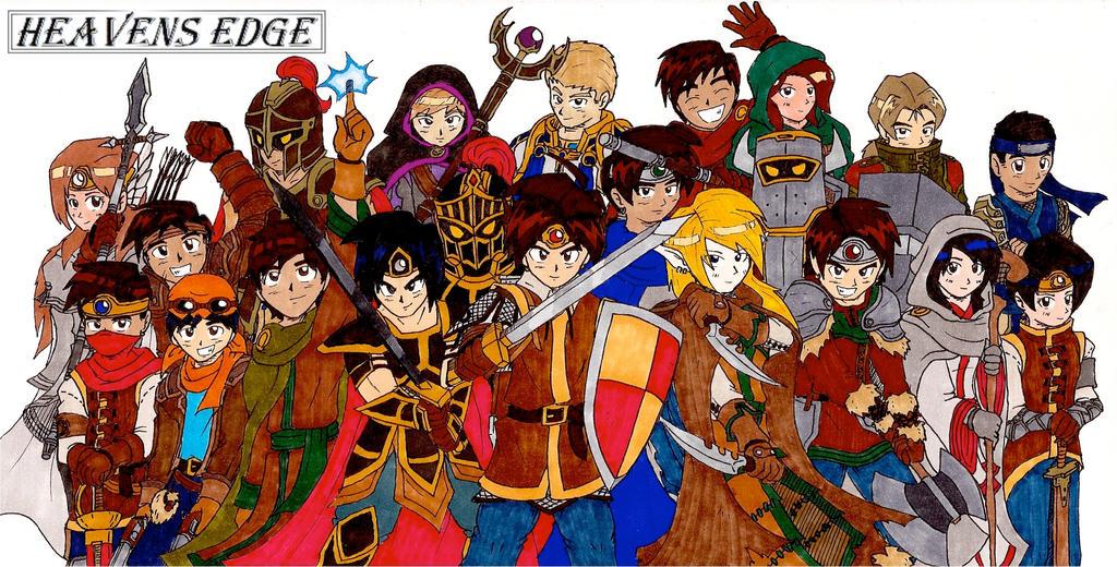 Heroes of HEAVENS EDGE by Jacob-Cross