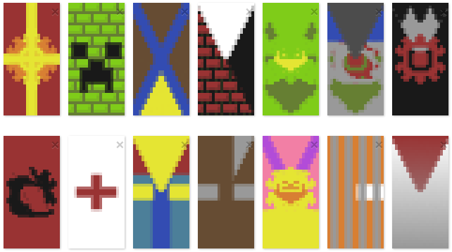 Minecraft Banners By Jacob Cross On Deviantart