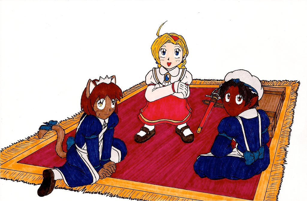 HE T7C: Ask OCs [Rose, Mary, and Milli] by Jacob-Cross