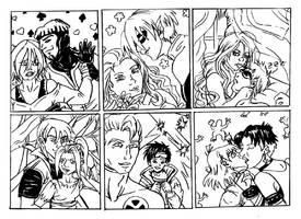 X-Couples part 1 by Kissu-Kisshu