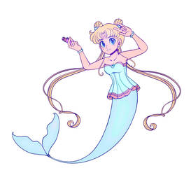 Moon princess Serenity Mermay