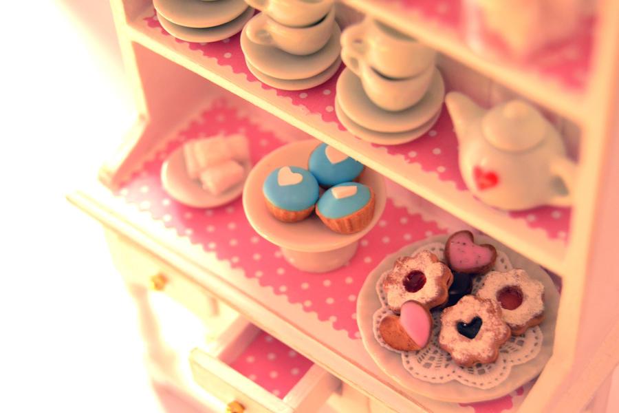 Miniature Kitchen Dresser 1 by Alusaf