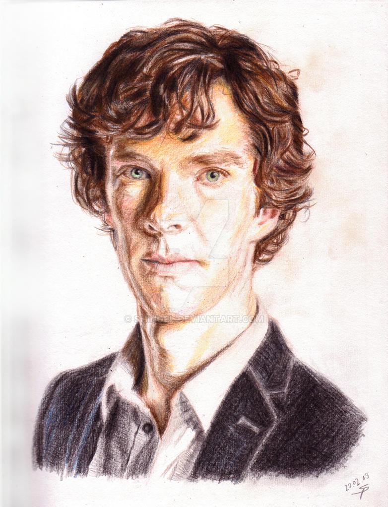 Sherlock Colored Pencils by Shingel