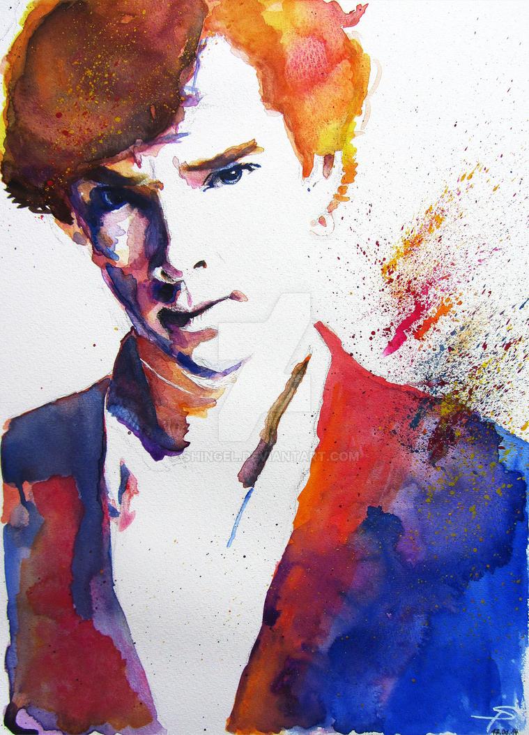 Sherlock - Splash of Colour by Shingel