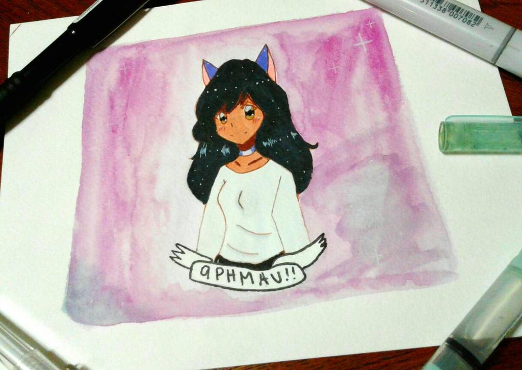 Aphmau Fan Art By Catnissarts On Deviantart