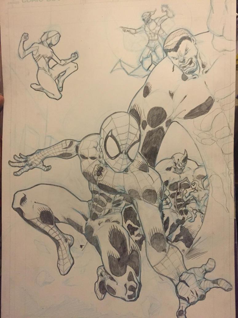 Spider-men by Planetshogun