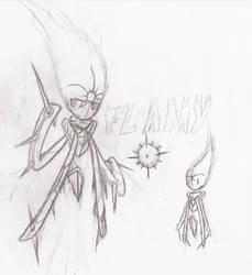 Flamy (Old OC)