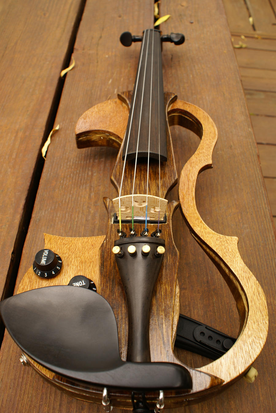 Homemade Violin 2.0 by Belize13 on