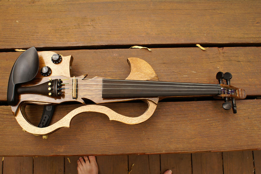 Homemade Violin 2.0 3 by Belize13 on