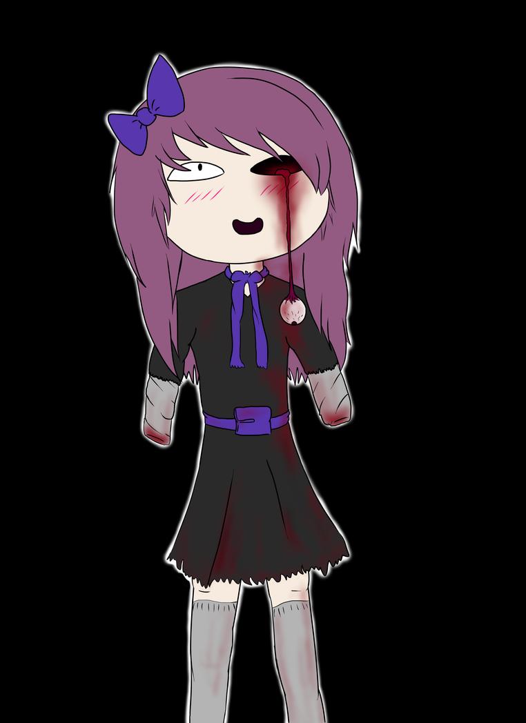 bloody girl by WrathOfFi