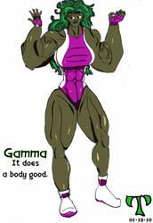 She-Hulk by Titaneer