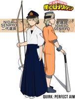 [BNHA OC] Ichijo and Nidai Senryo by natsuseiro