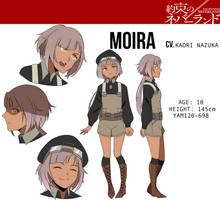 CM [TPN OC]: Moira by natsuseiro