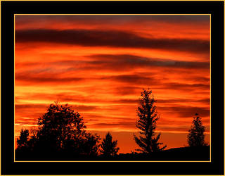Boise Sunset by hell0z0mbie