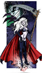 ladyDeath by zepol68