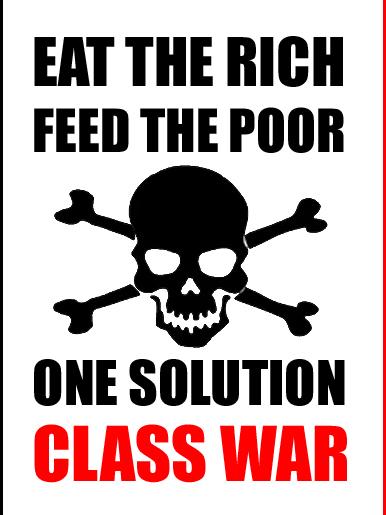 Class War by StandUpFightBack