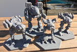 MWGoW 3d Printed Mechs