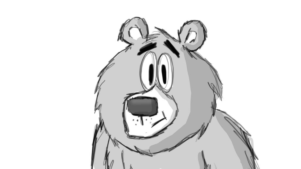 Bear Sketch by cartoonsbykristopher