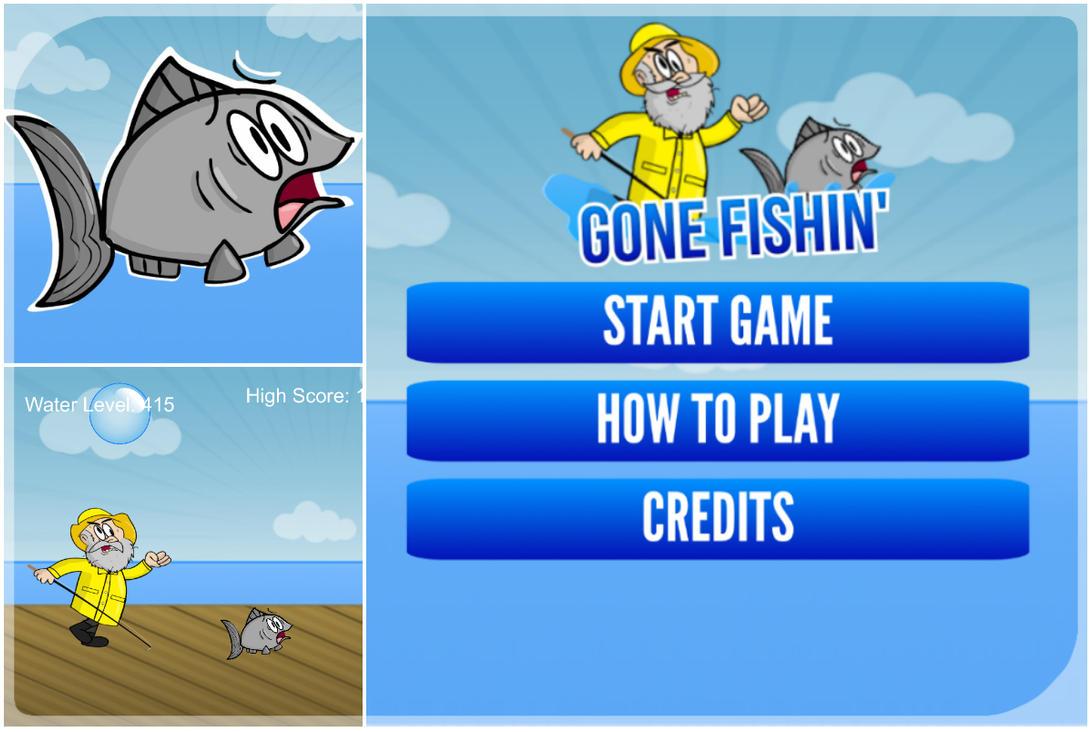Gone Fishin' is Now on The App Store! by cartoonsbykristopher